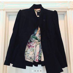 Ted Baker Wool Flare Jacket